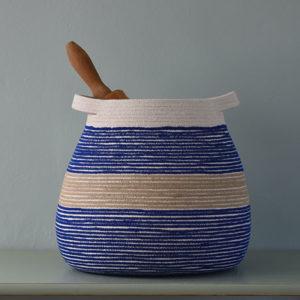 Large Blue Vessel