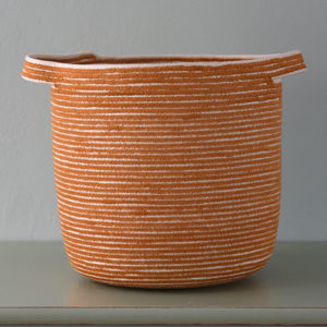 Large Orange Vessel