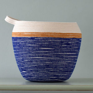 Medium Blue Vessel