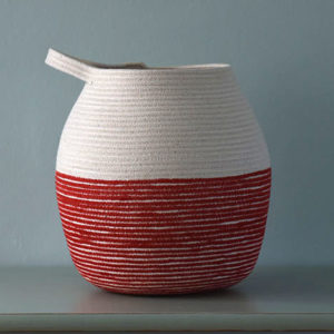 Medium Red Vessel
